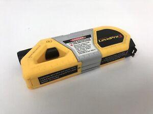 "Stanley Laser Level Pro 3 Tool 32' Beam Distance w/ Lock 10"" Tape Measure"