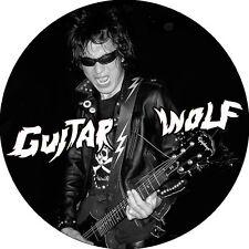 CHAPA/BADGE GUITAR WOLF . pin button the cramps devil dogs garage trash punk