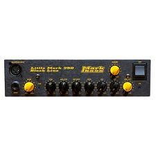 Markbass Blackline Little Mark 250 250W Bass Amp Head Black