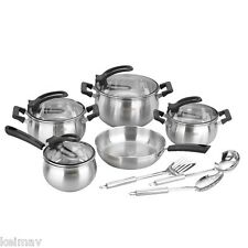 12-piece Super Quality Elegant Cookware Set with Kitchen Tools
