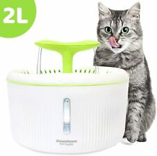 Dog Cat Automatic Pet Drinking Fountain, Ultra Quiet Water Dispenser Dual Nozzle
