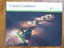 John Deere S550 S660 S670 S680 S690 Combine Brochure
