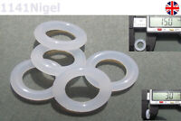 15mm OD  3mm CS O Rings Seal Silicone VMQ Sealing O-rings Washers