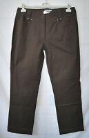 DAILY WOMEN Hose STRETCH Jeansform Schlicht Braun 99,- Gr 44 D2464