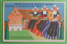 ADVERTISING Postcard 1935 BRUSSELS EXHIBITION,NEDERLANDSCHE KASS EN BOTER