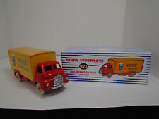 VINTAGE DINKY SUPERTOYS MECCANO.#923G BIG BEDFORD HEINZ 57 VAN RESTORED/NEW BOX