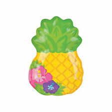 Bright Pineapple Paper Dinner Plates - 8 Ct. - Party Supplies - 8 Pieces