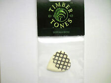 Timber Tones Grip Tones Mini Plektron Buffalo Bone Plektrum