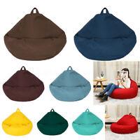 70cm/130cm Beanbag Teen Bean Bag Chair Kids Seat Adult Children Chair Cover
