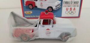 Matchbox YYM37799 1955 Chevy 3100 Tow Truck Texaco - U.S. Olympic Team 1:43 NIB!