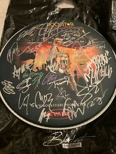 Autographed Uproar Festival Drum Head. Disturbed, Avenged Sevenfold Stone Sour