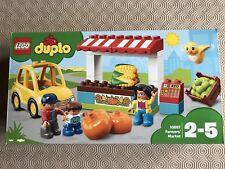 LEGO 10867 DUPLO Town Farmers 'Market Stall & CAR & 3 Figure Nuovo Di Zecca Sigillato