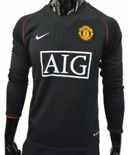 2007-08 NIKE Manchester United Away LONG SLEEVE Shirt SIZE S (adults)