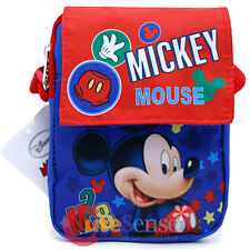 Disney Mickey Mouse Passport Mini Messenger Waist Fanny Bag Shoulder Body Cross