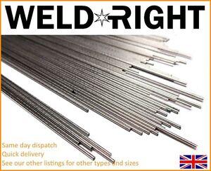 Weldright Aluminium Alu 5356 Tig Filler Welding Rods - Qty's and Diameter