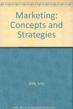 Very Good, Marketing: Concepts and Strategies, Ferrell, O.C., Pride, William M.,