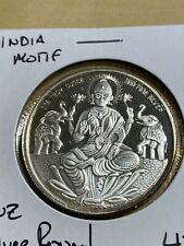 1 Troy Ounce .999 Fine Silver Round with India Motif!!