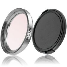 37mm MC UV Filter Silber & Objektivdeckel lens cap