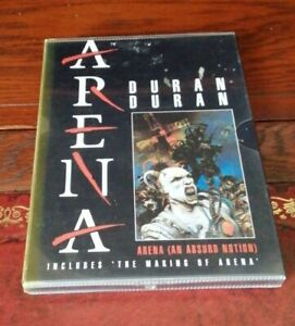 DVD - DURAN DURAN The Making Of ARENA - complete with POSTER and STICKERS
