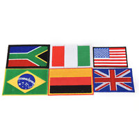 embroidery sew iron on patch nation flag badge transfers cloth fabric NY