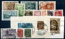 SAAR 1934 179-194 gestempelt SAARABSTIMMUNG 150€(D4682
