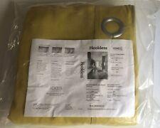 """One NEW Hookless Room Divider Drapery Curtain Panel Kiwi Green 129""""(W)x115.5""""(L)"""
