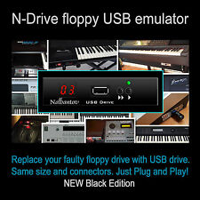 USB Floppy Disk Drive Emulator for Yamaha PSR 8000/9000; EL 27/37/57/87; QY 700