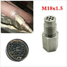 Car Check Engine Light Fix Catalytic Mesh Oxygen O2 Sensor Spacer Adapter Bung
