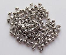 100pz  perline spacer separatori  4mm colore tibet lead,nickel free