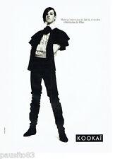 PUBLICITE ADVERTISING 056  1987  Kokai pret à porter mode 4