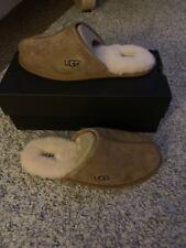 Pantofole Uomo UGG SCUFF UK9 bnwbt al dettaglio £ 90 FANTASTICI CHRISTMAS IDEA!