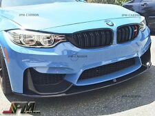 For 2015 up BMW F80 M3 F82 M4 P Style Carbon Front Lip & P Style Carbon Diffuser
