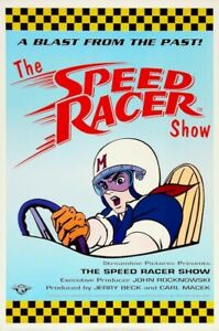 The Speed Racer Show 1992 POSTER Rare Anime Large