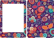 2013 Kindle Paperwhite Skin Cover Vinyl Sticker Flowers Floral Pattern