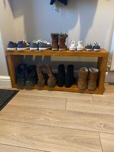 handmade shoe rack, made to order