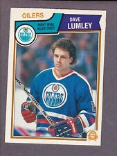 1983-84 O-Pee-Chee OPC Hockey Dave Lumley #38 Edmonton Oilers NM/MT