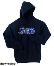 Pepsi-Cola Navy Blue 50/50 Hooded Sweatshirt - Pepsi - (Men's Size XL)  *NEW