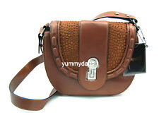 MIMCO PALLENBERG MINI SADDLE LEATHER BAG IN COGNAC BNWT RRP$379