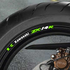8 x ZX14R Wheel Rim Stickers  Decals  Many Colours - monster energy - b