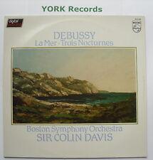 6514 260 - DEBUSSY  La Mer / Nocturnes DAVIS Boston SO - Excellent Con LP Record