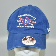 Los Angeles Dodgers New Era Dodger Stadium 2004 MLB Playoffs Strapback Cap Hat