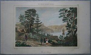 1836 print VIEW OF SYDNEY, NEW SOUTH WALES, AUSTRALIA (#262)