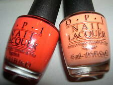 2x OPI Lot *GOOD MAN-DARIN HARD TO FIND~WHERE DID SUZI'S MAN-GO* Nail Polish~NEW