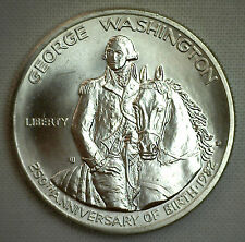 1982 D GEORGE WASHINGTON Half Dollar SILVER BU COIN ONLY