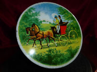 Peek Frean & Co Ltd VINTAGE BISCUIT TIN Horse Drawn Carriage - Food Advertising