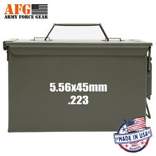 Army Force Gear 5.56X45mm.223 Ammo can Decal 3 Pack,Ammo Can NOT Included ,White