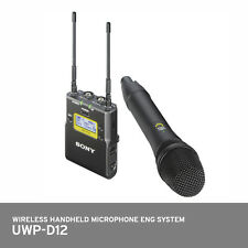 SONY UWP-D12 Integrated Wireless Microphone Package Handheld Transmitter System