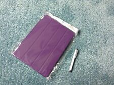 A purple cover fir apple iPad with pen 9 1/2 inches by 7 inches new