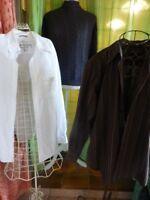 lot====homme= 1  chemise +++marque  JULES une offerte ,++pull  gris torsades