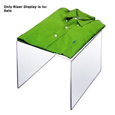 Clear Acrylic Riser Square Display 11.5W x 11.5H x 11.5D Inches - Case of 4